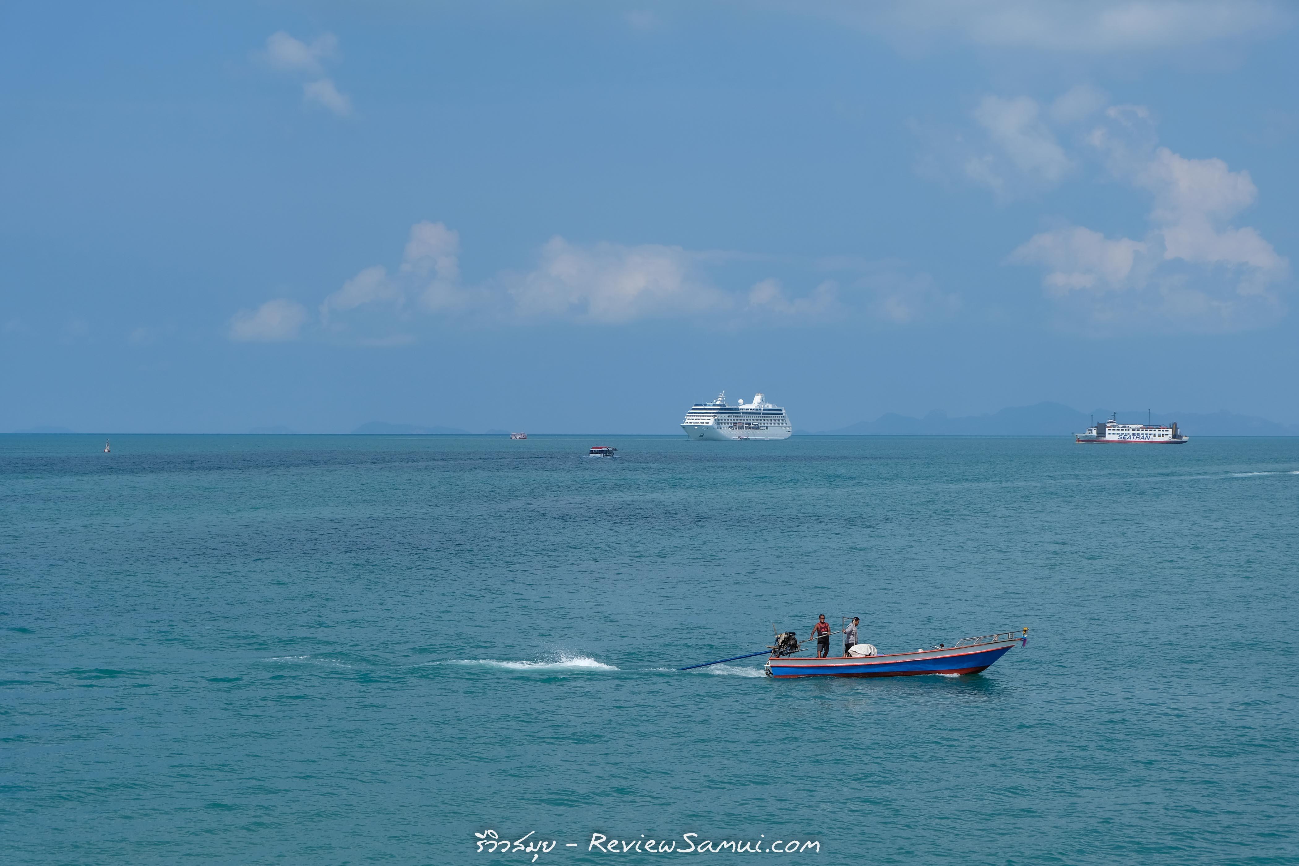 เรือเฟอร์รี่ รีวิวสมุย | Review samui