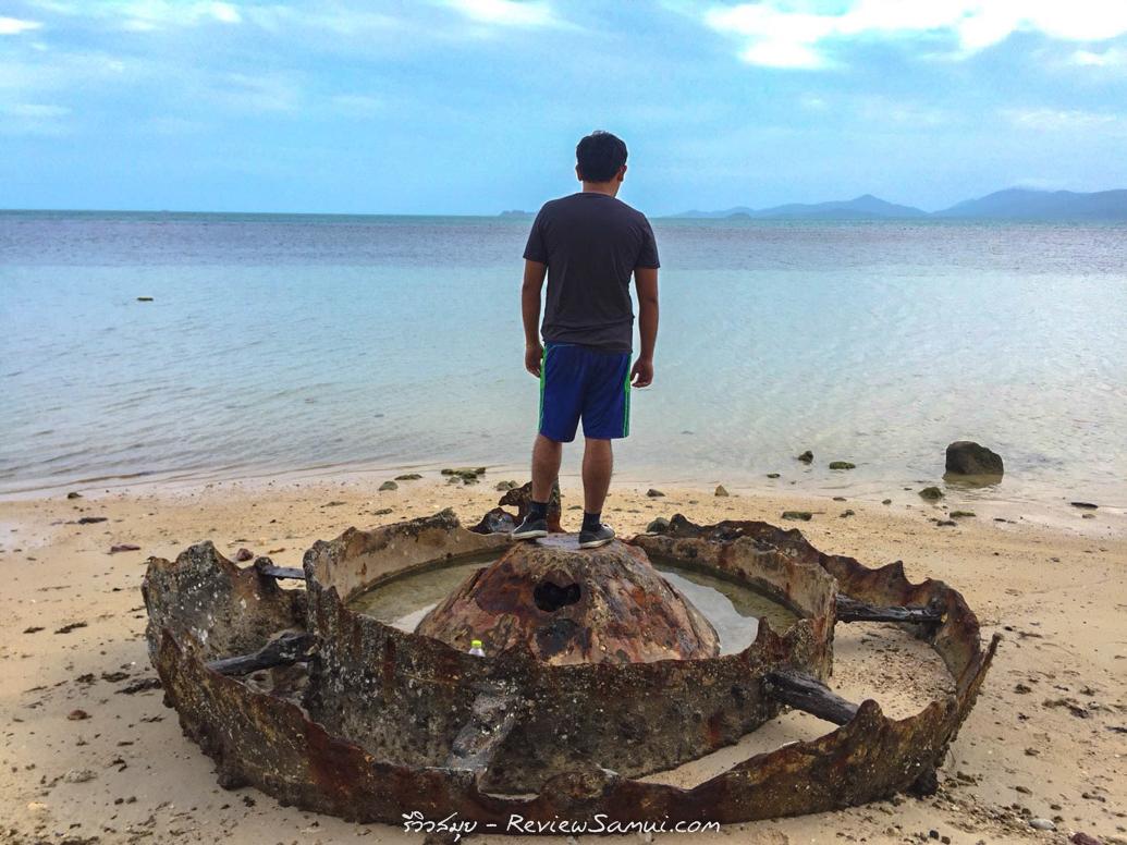 หาดสาธารณะบ้านใต้ รีวิวสมุย | Review samui