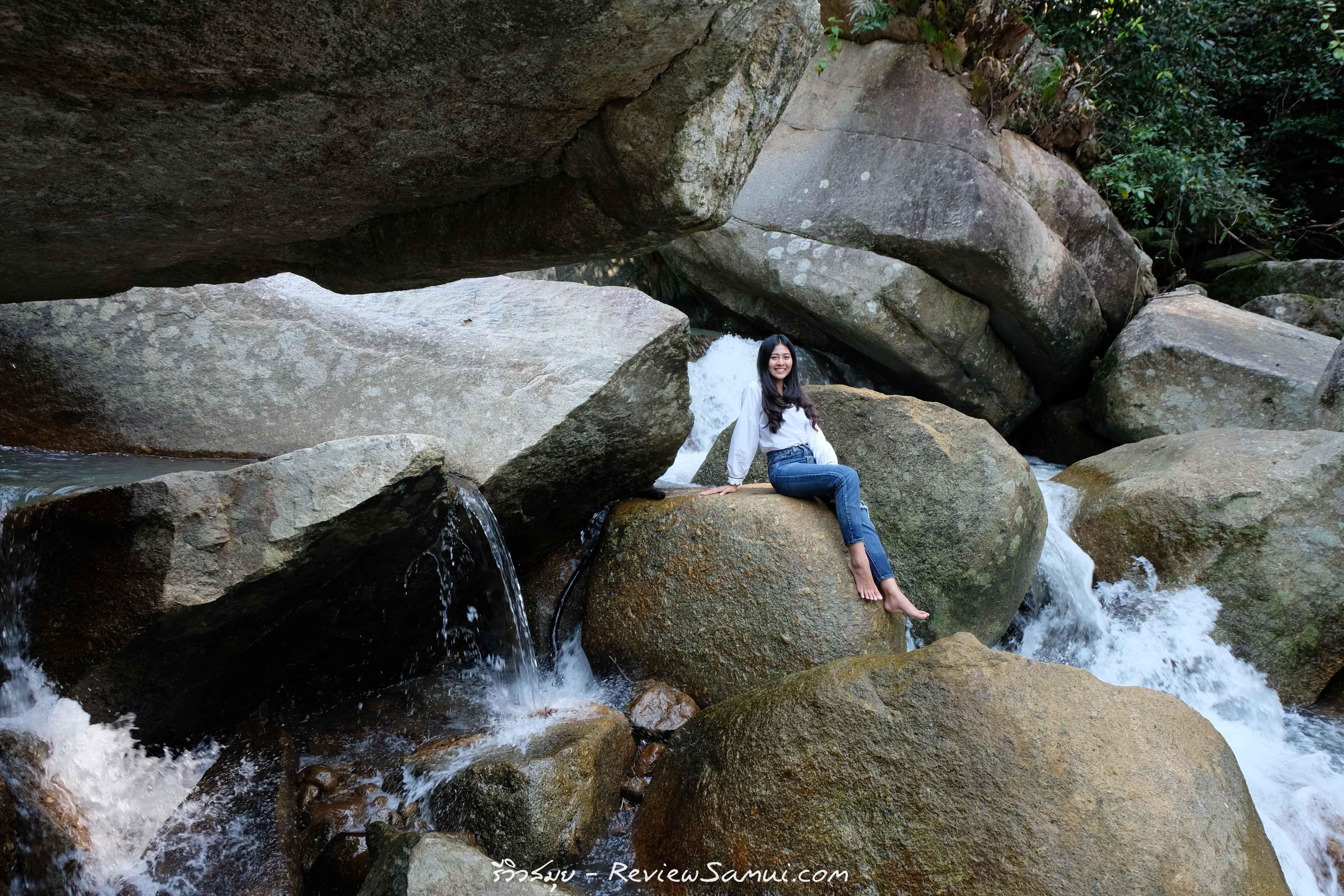น้ำตกหินลาด รีวิวสมุย | Review samui